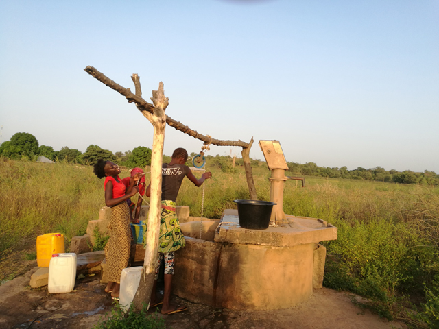 pay as you go water tap project - broken handpump 2